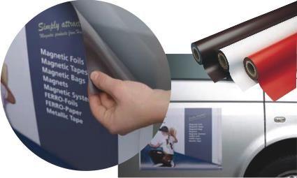 Bei uns können Sie Ihre Werbung fürs Auto günstig auf Magnetfolien drucken lassen. Unsere Magnetschilder werden oft von Kurierfahrern oder bei Firmenfahrzeugen genutzt um das Auto individuell nutzen zu können. Unnötige Um,- und Wiederbeschriftungen werden somit vermieden