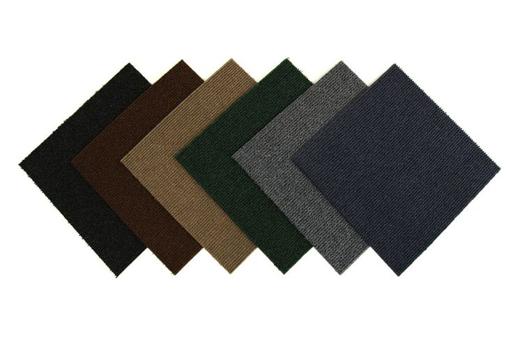 Wide Rib Extreme Carpet Tile - High Quality Discount Carpet Tile Squares