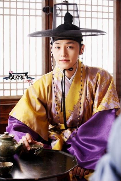 Song Joong Ki as Ku Yong Ha in Sungkyunkwan Scandal