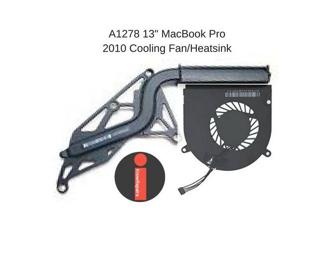"""Genuine Apple Macbook Pro 13"""" A1278 2010 CPU Fan w/ Heatsink KSB0505HB #Apple"""