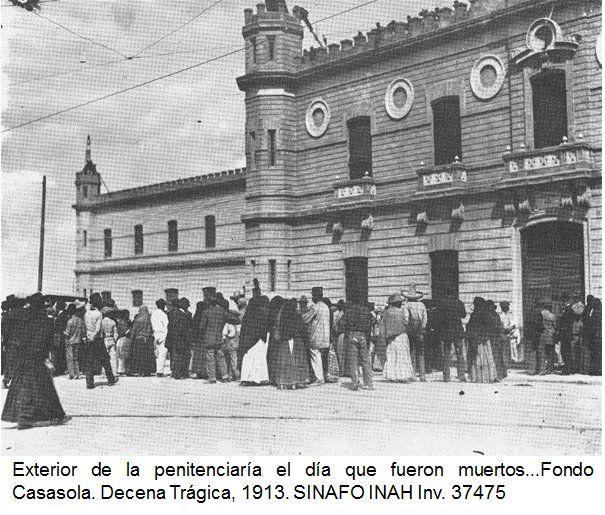 Decena Trágica the day Francisco Madero and Pino Suarez were killed.