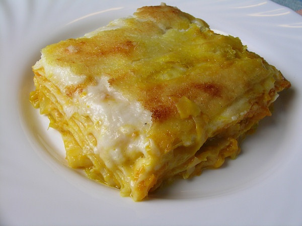 Lasagne zucca e porri, una delle mie ricette preferite