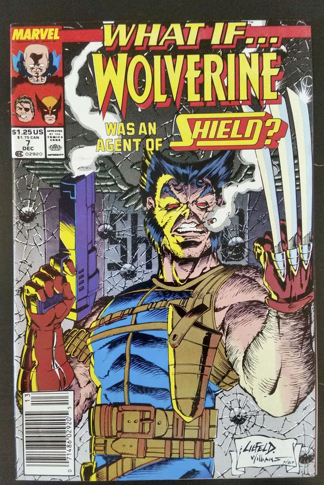 What If? #7 (1989, Marvel) Wolverine Agent of SHIELD Rob Liefeld X-Men Avengers