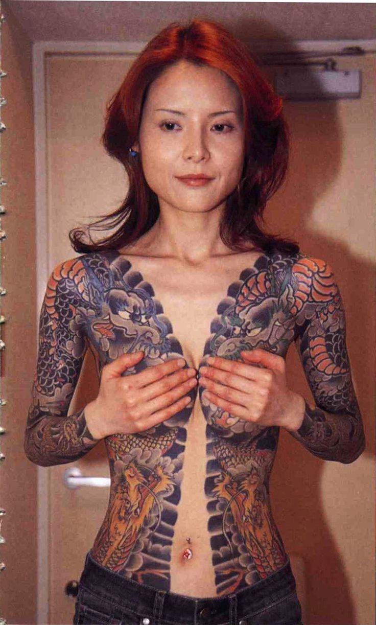 full body tattoo girls naked