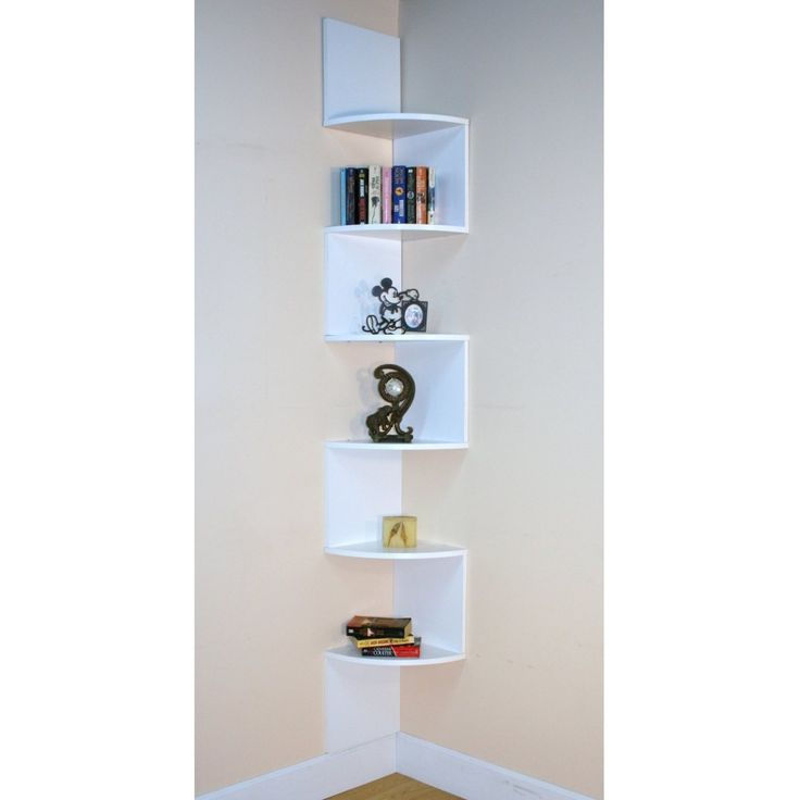 962f88d0313ed6d984f19608e3dab1f8--corner-bookshelves-bookcases.jpg - 20 Best White Corner Shelf Images On Pinterest Corner Cabinets