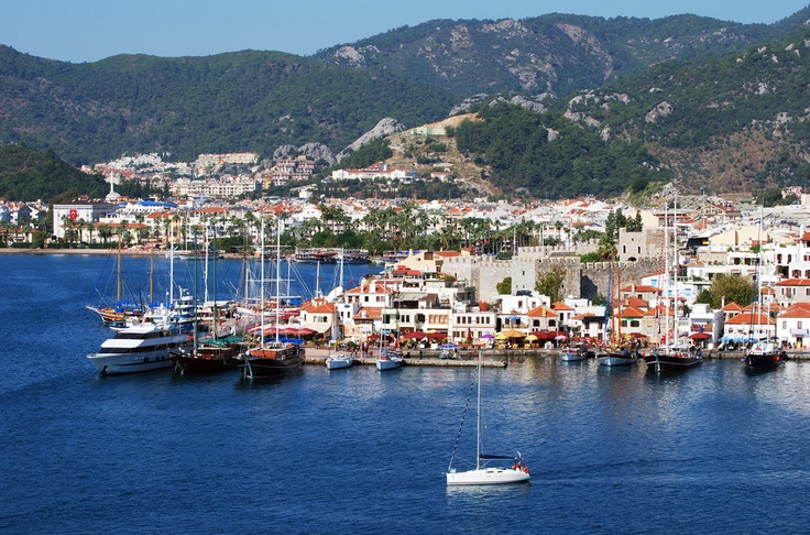 Marmaris Turkey. Arrived from Rodos Greece. Absolutely breathtaking.