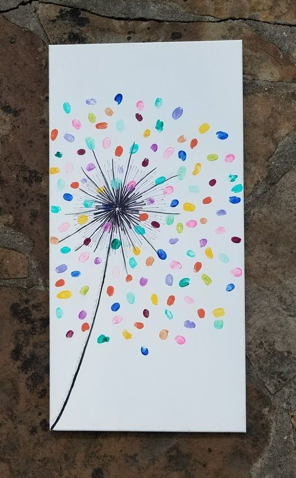 40 Simple And Easy Canvas Painting Ideas For Kids Free Jupiter