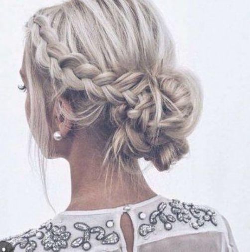 Trendy Hairstyles Bridesmaid Long Hair Blondes 20 Ideas #hair #hairstyles