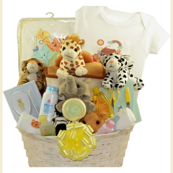 The More Merrier Triplets And Quadruplets Baby Gift Basket
