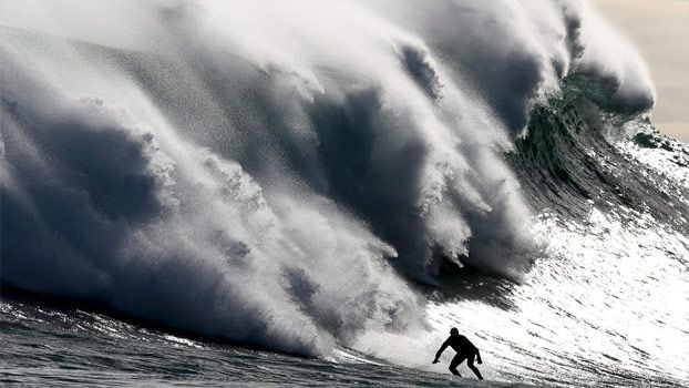 One of the world's deadliest waves..Cape Town   S. Africa
