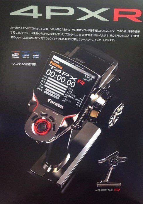 Futaba 4PXR - 4-Channel 2.4GHz Computer Radio System with R314SB Receiver