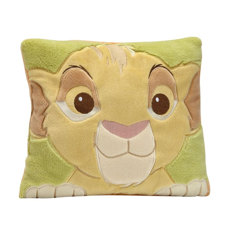Disney Baby Lion King Decorative Pillow With Lique