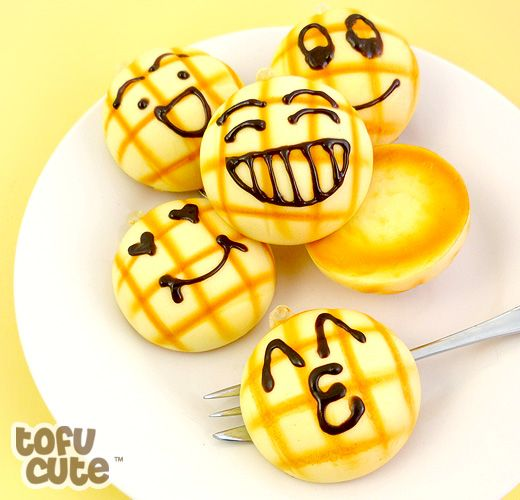 How Squishy Buns Are Made : Buy Squishy Scented Emoticon Melon Bun Phone Charm at Tofu Cute Kawaii Squishies Pinterest ...