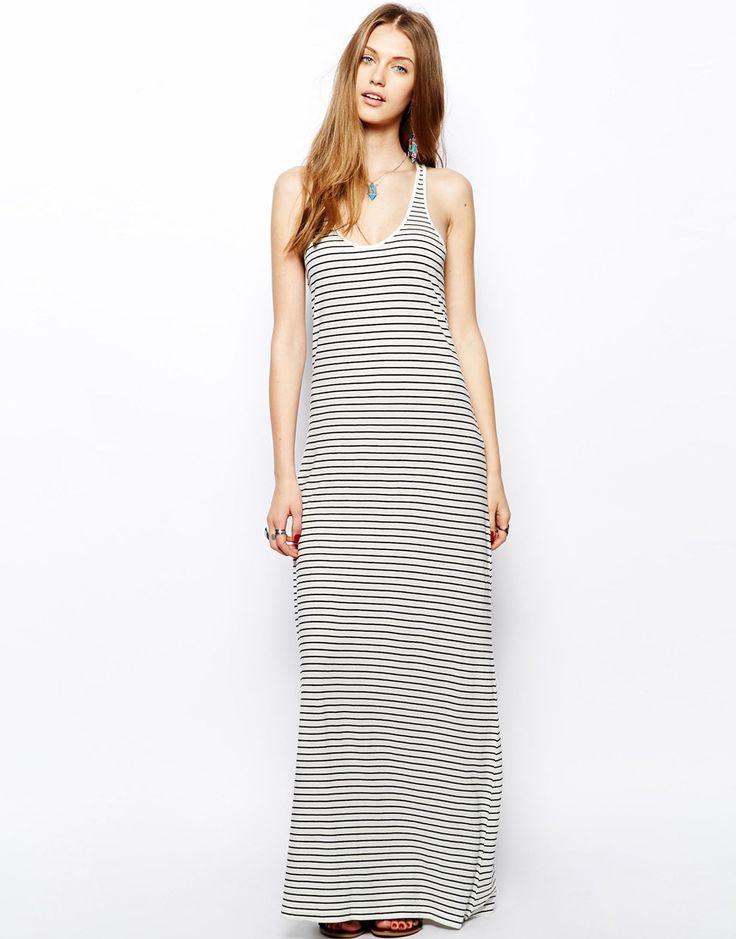 Asos - Denim & Supply By Ralph Lauren - Maxi robe à rayures 113,99 € MAINTENANT 33,99 €