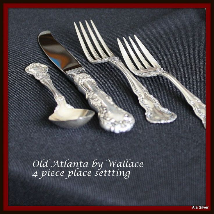 Old Atlanta set of 5 four-piece place settings