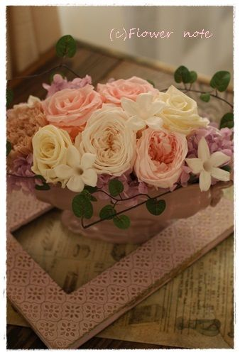 『【今日の贈花】結婚のお祝いに』 http://ameblo.jp/flower-note/entry-11746676960.html