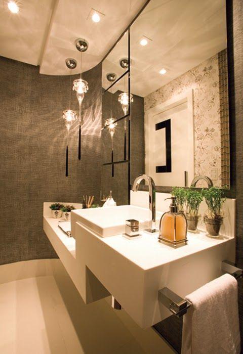 17 best images about banheiro on pinterest madeira cuba - Como decorar un recibidor pequeno ...