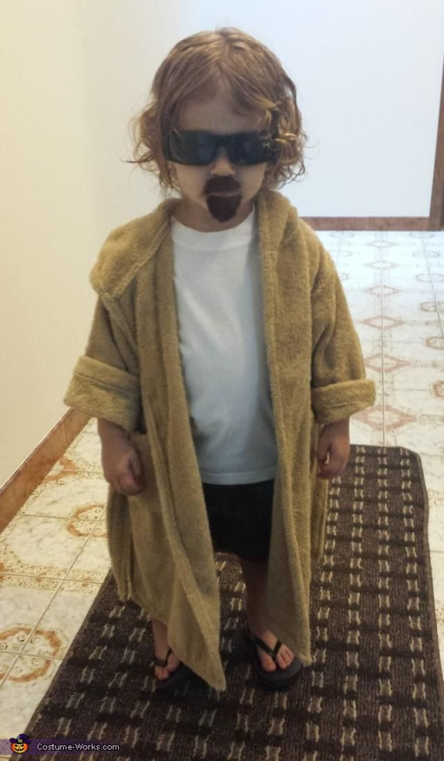 20 Funny Baby Costumes That Won Halloween: The Dude