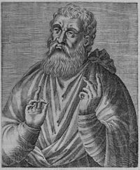 Justin Martyr-- also known as Saint Justin (100–165), was an early Christian apologist, and is regarded as the foremost interpreter of the theory of the Logos in the 2nd century.[2] He was martyred, alongside some of his students, and is considered a saint by the Roman Catholic Church, the Anglican Church, and the Eastern Orthodox Church.
