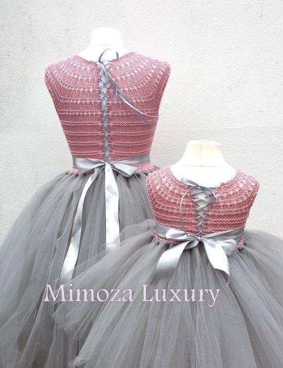 Madre hija juego vestidos de adulto vestido por MimozaLuxury