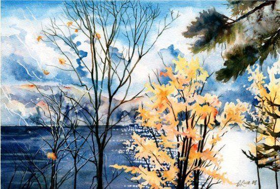 Moody Day on Fairy Lake by MysticalWoodsStudio on Etsy