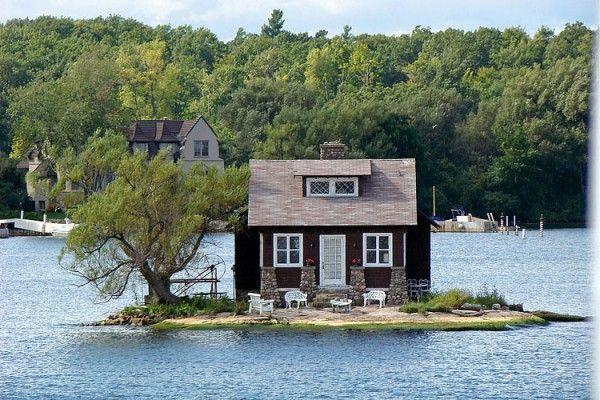 Small house, small island