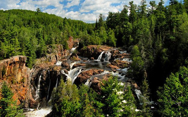 Aubrey Falls, Algoma | 14 Natural Wonders You Won't Believe Are In Ontario