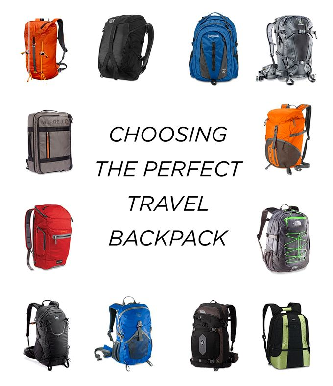 choosing the perfect travel backpack for a laptop & camera & hiking.