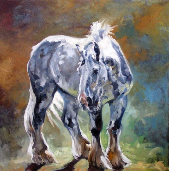 Best Equine Paintings By Kindrie Grove Images On