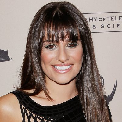 Find Your Perfect Bangs: Nearly any fringe works with an oval-shaped face, but #LeaMichele's airy, pin-straight ones accentuate the prettiest parts of the face without feeling bulky. http://www.instyle.com/instyle/package/general/photos/0,,20276967_20364405_20761546,00.html