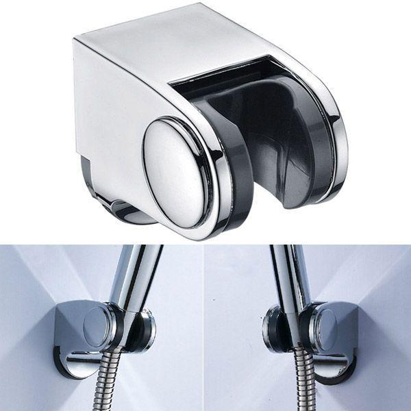Adjustable Plastic Fixed Wall Mounted Shower Head Holder Base Bracket #ShowerHeads