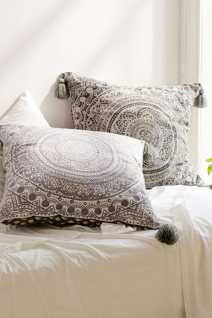 Plum & Bow Raya Oversized Pillow Don't have to be from Urban (or this expensive) just some large throw pillows
