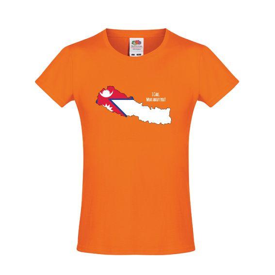 Nepal | meisjes t-shirt I care 4 Nepal (610170)
