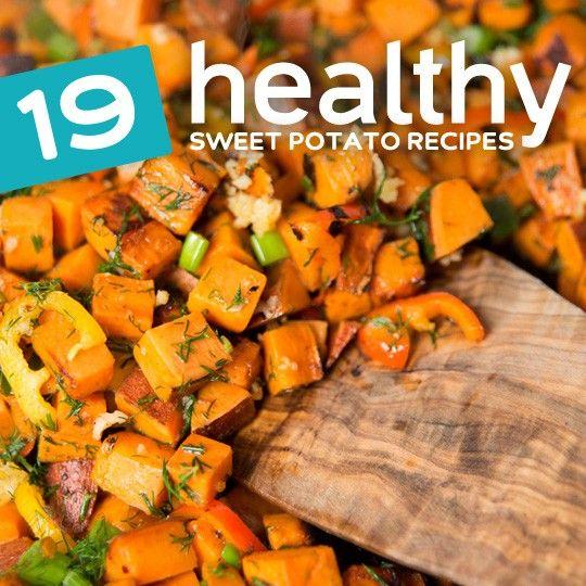 19 Super Healthy Sweet Potato Recipes