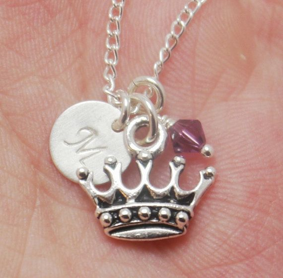 Princess Necklace Crown Necklace Princess Crown Necklace