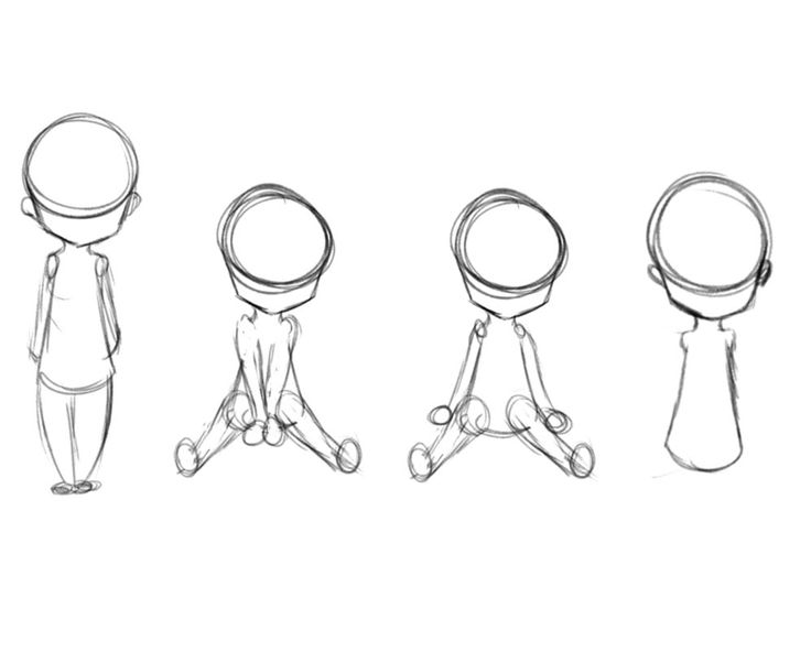 chibi drawing poses base cute sketch drawings pose manga google human sitting template tips reference cat eyes pages holding templates