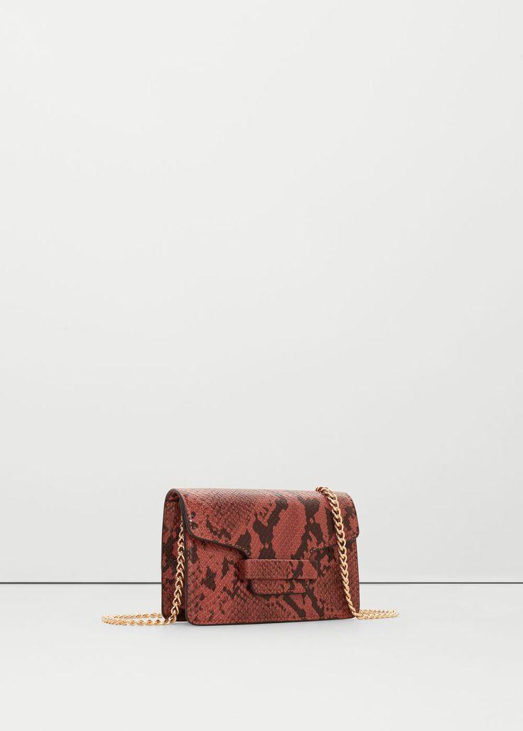 Tasche mit kette | MANGO