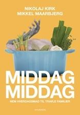 MiddagMiddag er til den travle familie, der gerne vil lave god mad hver dag. Makkerparret Nikolaj Kirk og Mikkel Maarbjerg gør det let at spise sundt og varieret. Bogen indeholder 120 opskrifter på mad i gryde, ovn, wok og på grill eller pande.    Misokylling, svinekæber og mørbradbøffer med græskarsovs - find et uddrag fra MiddagMiddag her (klik på billedet).