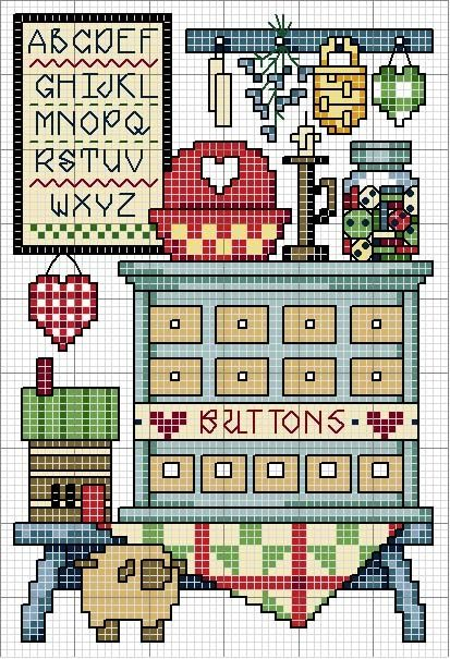 crafty Cross stitch