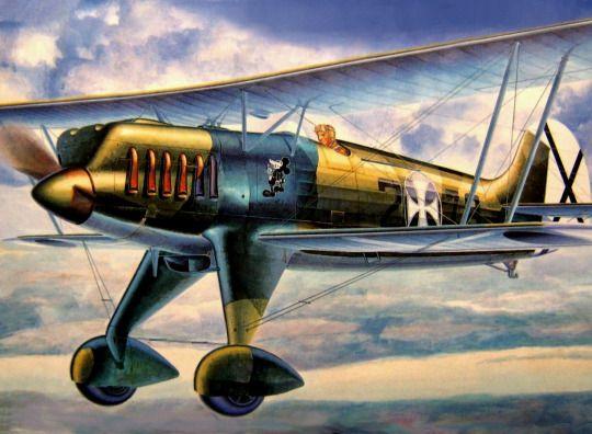 Heinkel He 51 Condor Legion in the SCW