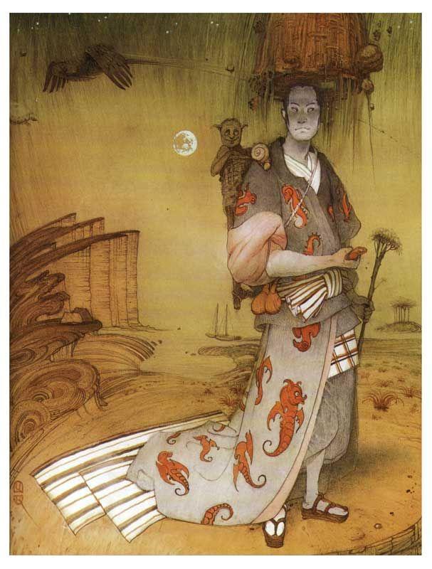 Cyril Chelushkin, Japanese Tales 1