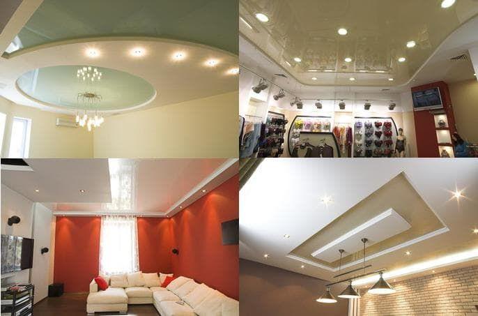 طريقة توزيع الاضاءة أو السبوت لايت في اسقف الجبس المعلق ديكورموز Home Ceiling Lights Home Decor