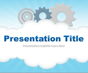 Cloud Computing PPT template is a free PowerPoint background template that you can download for technology presentations in Microsoft PowerPoint 2007 and 2010