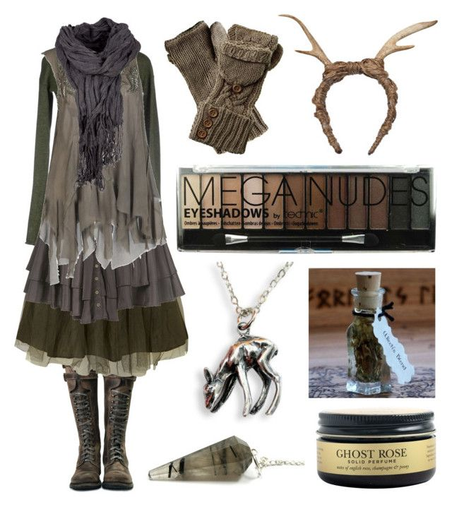 """""""Yearling"""" by maggiehemlock ❤ liked on Polyvore featuring Manostorti, Jolie Moi, FAUXTALE, AllSaints and Boohoo"""