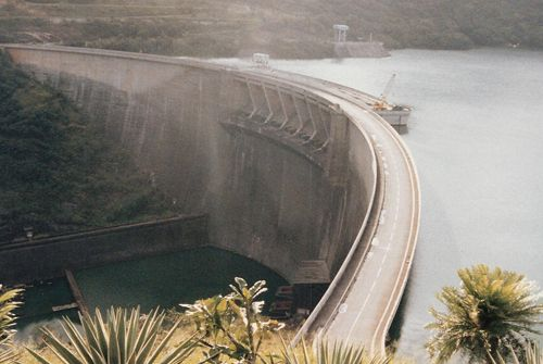 Victoria Dam - Sri Lanka
