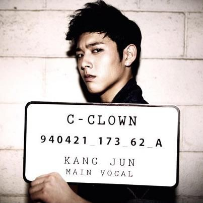Kangjun C-CLown Birthday, height (cm), weight  (kg), blood type