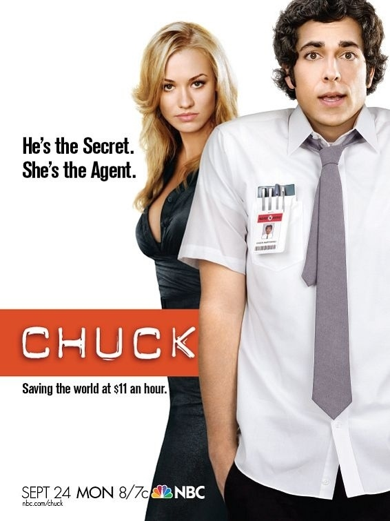 Chuck - they really do look like Rapunzel and Flynn here don't they!  Gotta love Zachary Levi and Yvonne Strahovski!
