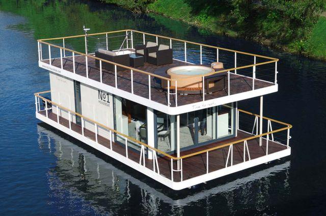 1229 besten floating houses maisons flottantes bilder. Black Bedroom Furniture Sets. Home Design Ideas