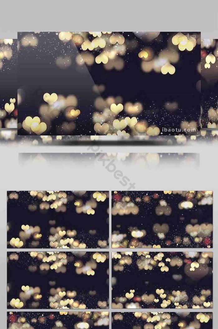 جميلة رومانسية الجسيمات الغنائية الحب مرحلة خلفية الفيديو فيديو Mp4 تحميل مجاني Pikbest Stage Background Photo Wall Love Stage