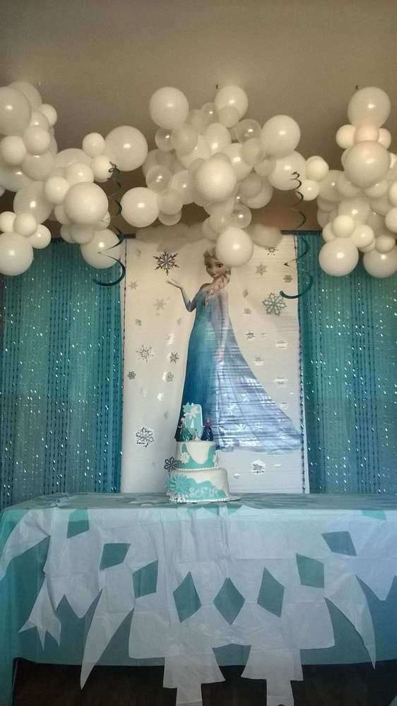disneys frozen elsa Birthday Party Ideas | Photo 10 of 10